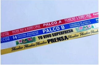 venta minorista ba2d3 185e4 Manillas Publicitarias Tela en Mercado Libre Colombia