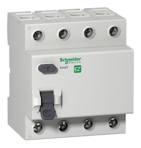 Interruptor Diferencial Easy9 4p 63a 30ma Clase Ac