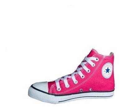 Tenis Converse All Star Bota Rosa Pink