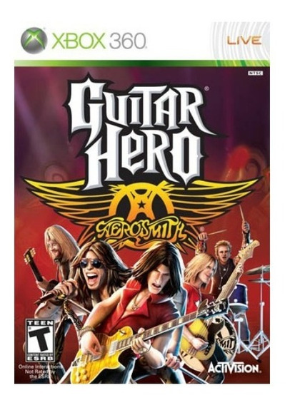 ..:: Guitar Hero Aerosmith (solo Juego) ::.. Xbox 360 En Gc