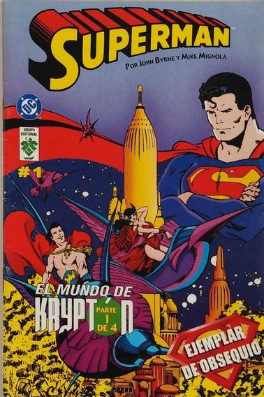Historieta Superman Numero 1 Dc Grupo Editorial Vid
