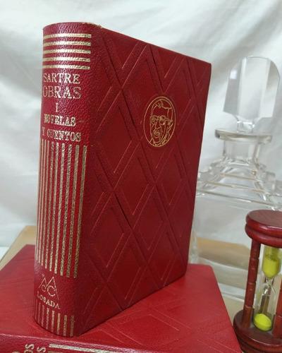 Sartre Obras (ii Tomos)i Novelas Y Cuentosii Teatro Y Estu