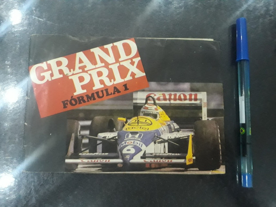 Álbum De Prêmios Grand Prix Fórmula 1 Raro