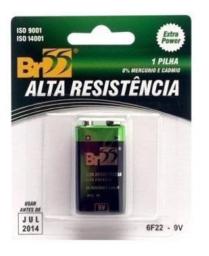 Barteria V9 Br55 Alta Resistência, Zincocarbono 20 Unidades