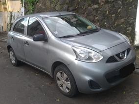 Nissan March Cinza 1.0 Única Dona Ipva Pago