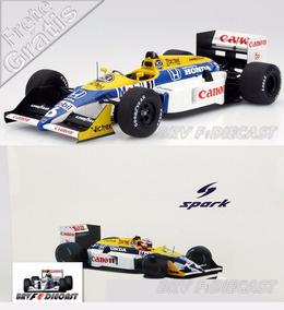 1/18 Williams Honda Fw11b Nelson Piquet Tri Campeão F1 1987
