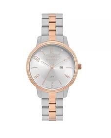 Relógio Technos Feminino Mod 2015cci/5k - Prata/rosé - Nf