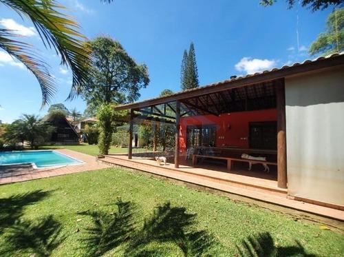 Chácara Com 3 Dormitórios À Venda, 2000 M² Por R$ 1.380.000,00 - Chácaras Ana Lúcia - Embu Das Artes/sp - Ch0039