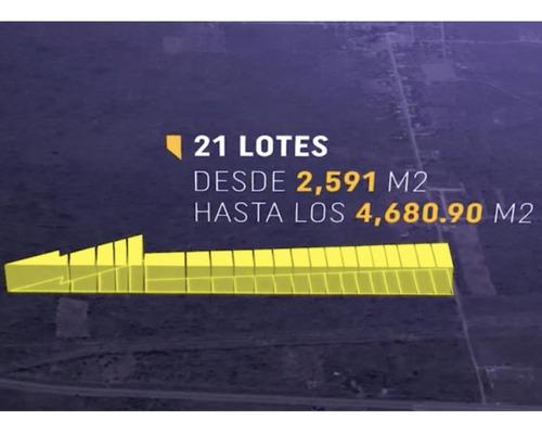Imagen 1 de 10 de Terreno Industrial En Venta, Merida, Sahe ¡a Unos Metros De La Carretera Merida-cancun!