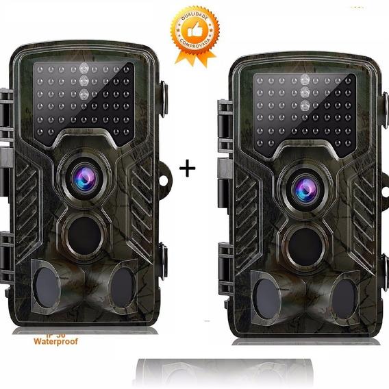 2 Câmeras De Trilha Hc800a Visão Noturna 16 Mpx Promoção