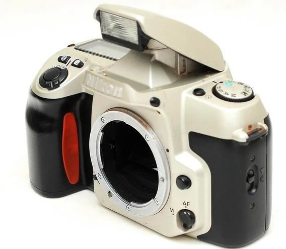 Nikon F60 Corpo P/ Decoração = Sony Canon N80 N90 Eos Rebel