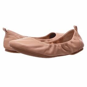 Lucky Brand Zapato Flats De Piel / Minimo Uso