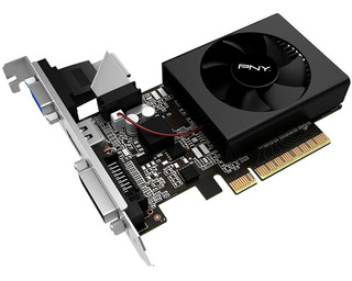 Tarjeta De Video Nvidia Gt 710 2gb Ddr3 Hdmi Vga Slim Pny