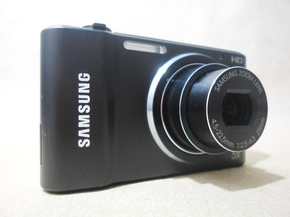 Câmera Digital Máquina Samsung St66 St 66 Preta 16.1 - Usada