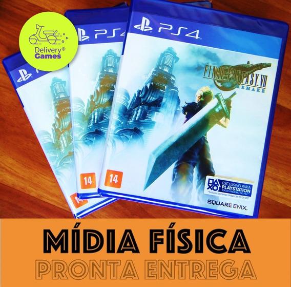 Final Fantasy Vii 7 Remake Ps4 Mídia Física Lacrado + Nf