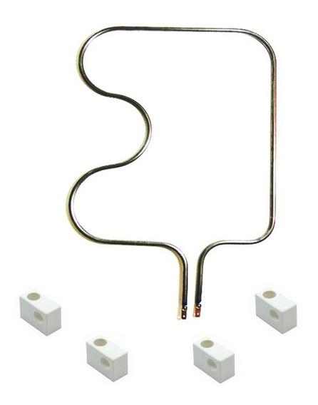 Resistência Elétrica Forno Fischer 1000w 220v + 4 Porcelanas