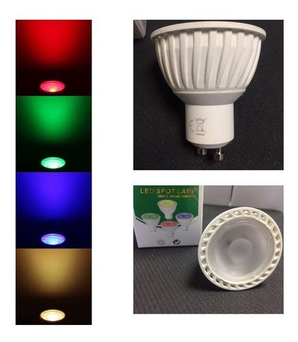 Lámpara Dicroica Led 5w Gu10 220v. Varios Colores. Garantía