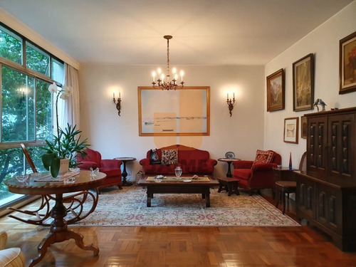 Apartamento Para Venda No Bairro Higienópolis Em São Paulo - Cod: Ja17842 - Ja17842
