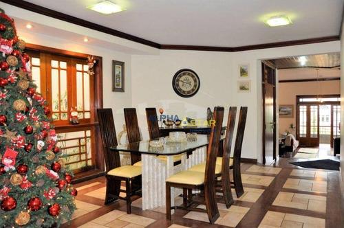 Imagem 1 de 28 de Casa Com 4 Dormitórios À Venda, 360 M² Por R$ 1.200.000 - São Paulo Ii - Cotia/sp - Ca3592