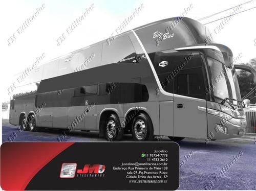 Paradiso 1800 Dd G7 Ano 2017 Scania K440 Jm Cod.193