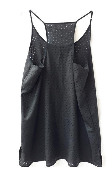 Remera Musculosa Negra Mujer Zara Collection Talle L Nueva