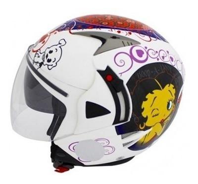 Capacete Nasa Helmets Betty Boop