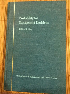 Probability For Management Decisions