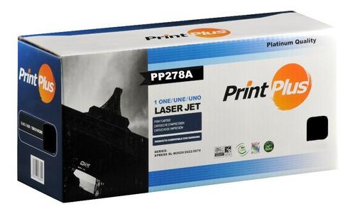Toner Print Plus Compatible Hp Ce278a. Lps