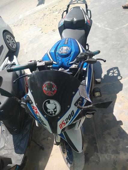 Moto Pulsar Rs 200