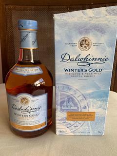 Whisky Dalwhinnie Winters Gold Highland Single Malt