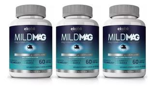 Calmante Anti Stress Kit 3 Un Mild Mag Magnésio B1 B2 B3 B5