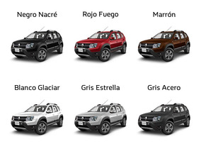 Renault Duster Privilege 2.0 4x2 2018 Plateado Contado Autos