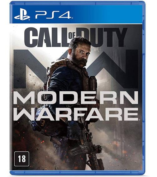 Call Of Duty Modern Warfare 2019 Ps4 Mídia Física Português