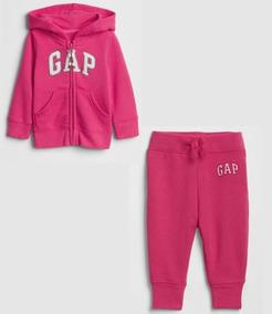Conjunto Moletom Gap Infantil Original Menina