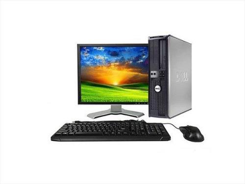 Computadora Completa Dual Core 4 Gb 500  Gb  Lcd 17 Wiffi
