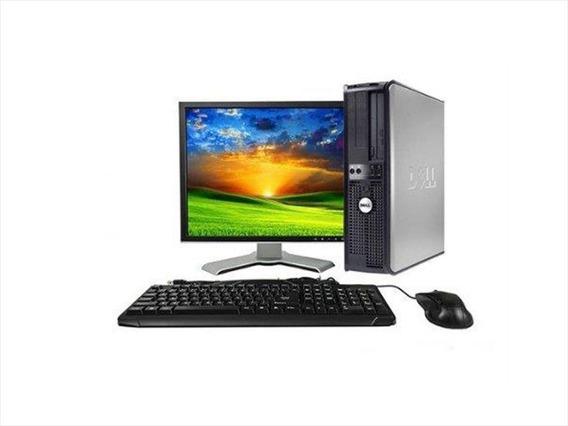 Computadora Completa Core 2 Duo 4g Ddr2 Led 17