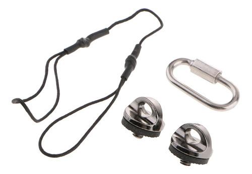 Cordão Para Lanterna Com Fivela Alça Antiderrapante Para