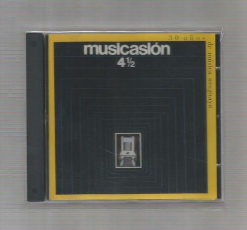 Musicasión 4 Y 1/2 Eduardo Mateo El Kinto Denoir Cd Nuevo