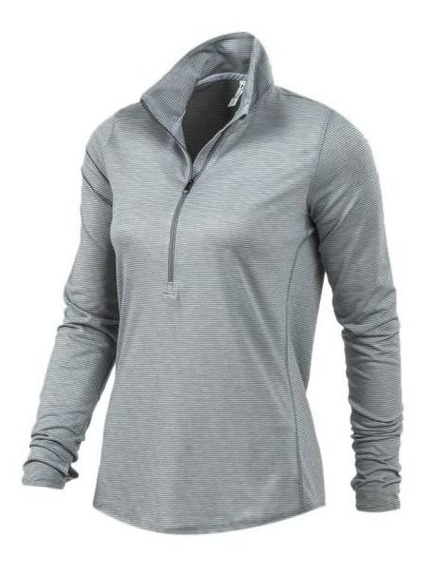Under Armour Remera M L 1/2 Cierre Streaker W Mt Mode2341