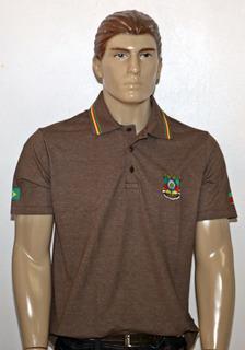 Camisa Pólo Gaúcho Adulto Bordada Tam. P À Gg