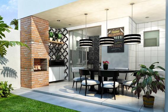 Casa Duplex Com 3 Quartos, Sendo 3 Suítes, 4 Vagas De Garagem, No Bairro Itapoã, Em Belo Horizonte. - 432