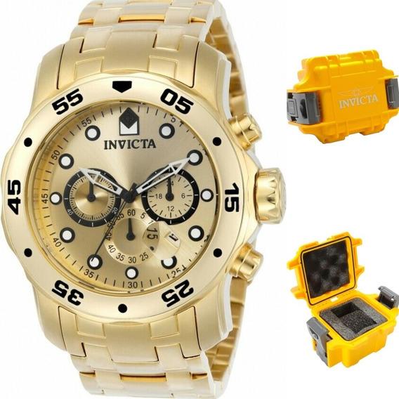 Relógio Invicta Pro Diver 0076 Original Maleta.
