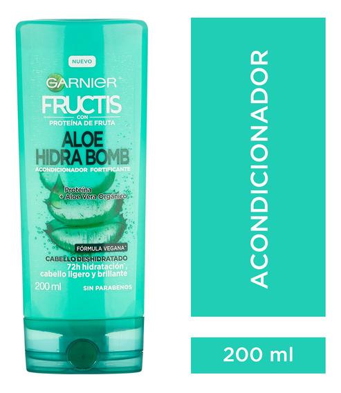 Acondicionador Fructis Aloe Hidra Bomb 200 Ml Garnier