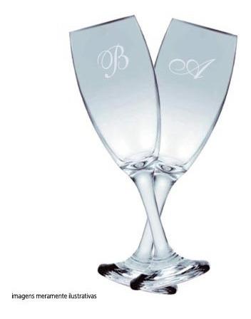80 Adesivos Jateado Iniciais Noivos Taça Casamento Lembrança