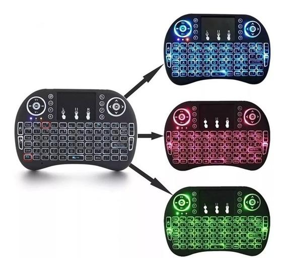 Mini Teclado Led Sem Fio Wireles - Melhor Do Mercado Xtrad