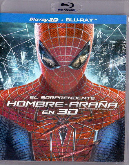 El Sorprendente Hombre Araña Pelicula Blu-ray 3d + Blu-ray
