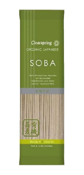 Pasta Soba Clearspring Japonesa Orgánico