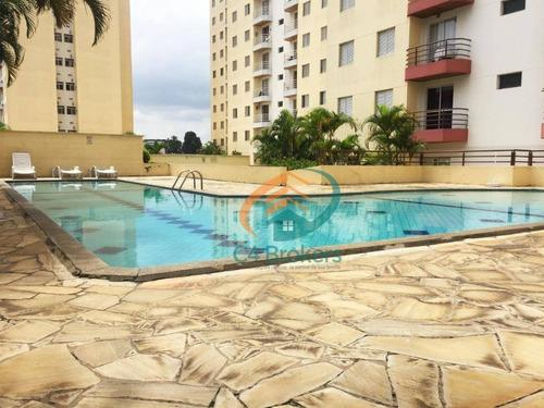 Imagem 1 de 20 de Apartamento Com 2 Dormitórios À Venda, 50 M² Por R$ 285.000,00 - Macedo - Guarulhos/sp - Ap1174