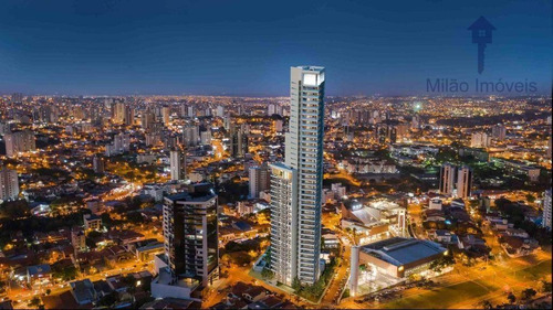 Apartamento Com 3 Dormitórios À Venda, 150 M² - Ícone - Jardim Faculdade - Sorocaba/sp - Ap1490
