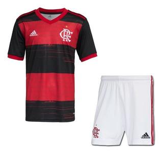 Camisa Flamengo 2020 Conjunto Infantil Mengão - Criança